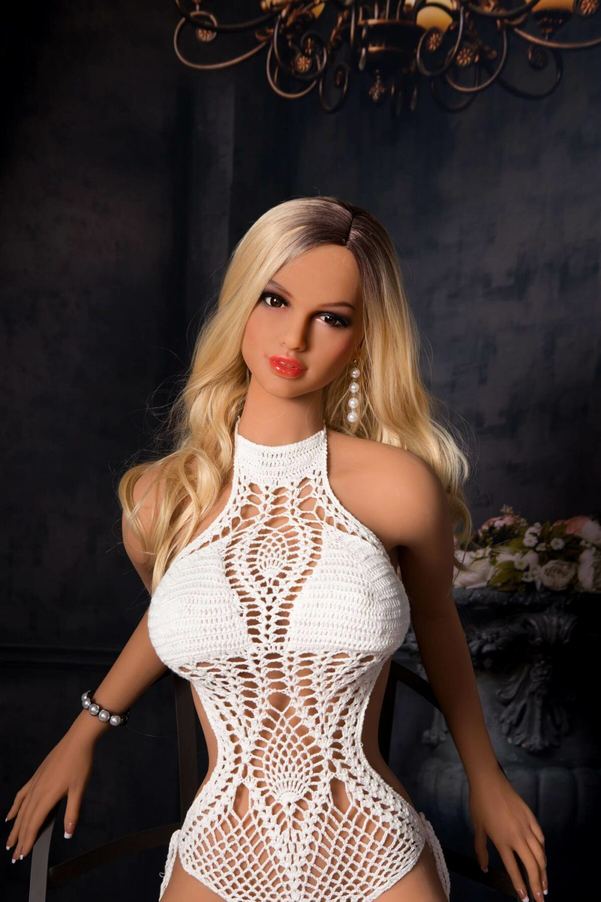 Skinny Blonde Sex Doll - Prudence
