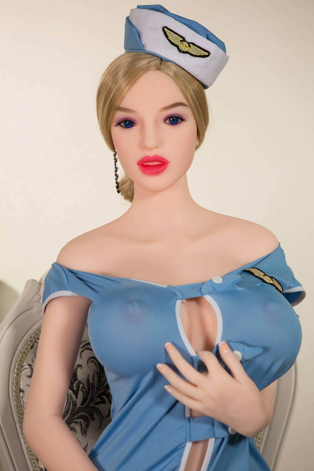 Hot Skinny Blonde Sex Doll - Renee