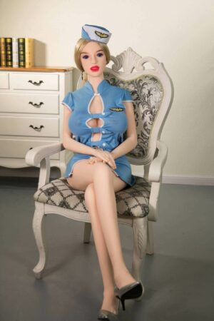 Heiße dünne blonde Sexpuppe - Renee