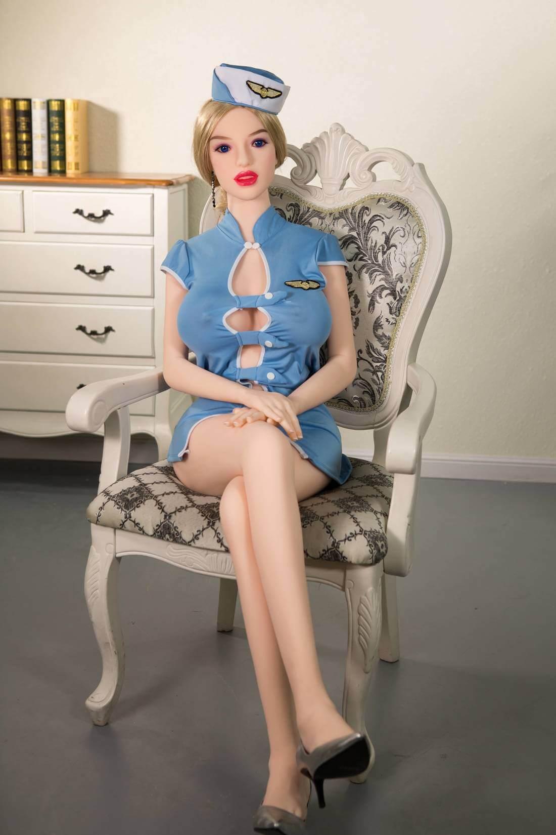 Hot Skinny Blonde Sex Doll - Renee