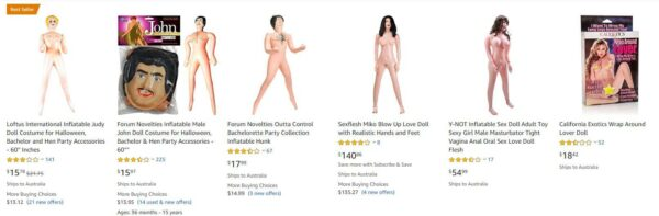 2019 Inflatable Blow Up Doll Guide 6