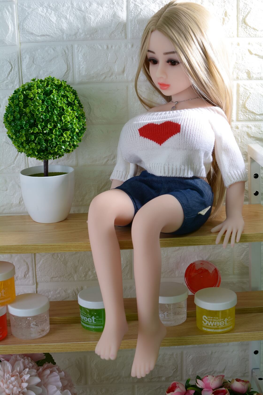 Bambola del sesso più piccola di 65 cm - Rebecca