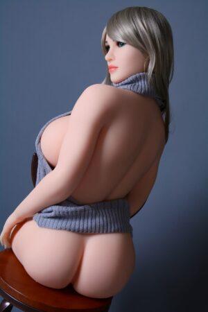 Big Breast Curvy Silikon Blue Eye Sex Doll
