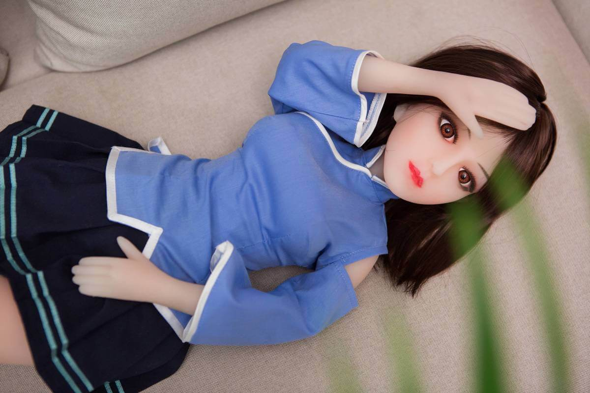 mini silicone sex doll