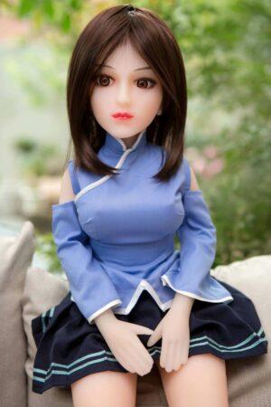 Mini Silicone Sex Doll - Gail