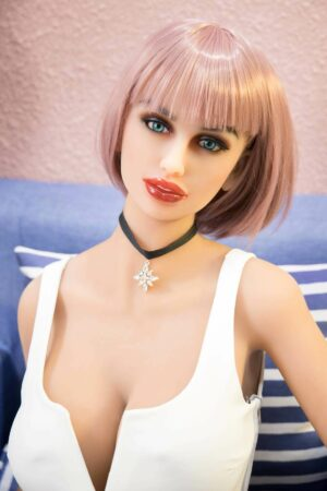 Cabello corto muñeca del sexo - Ingrid