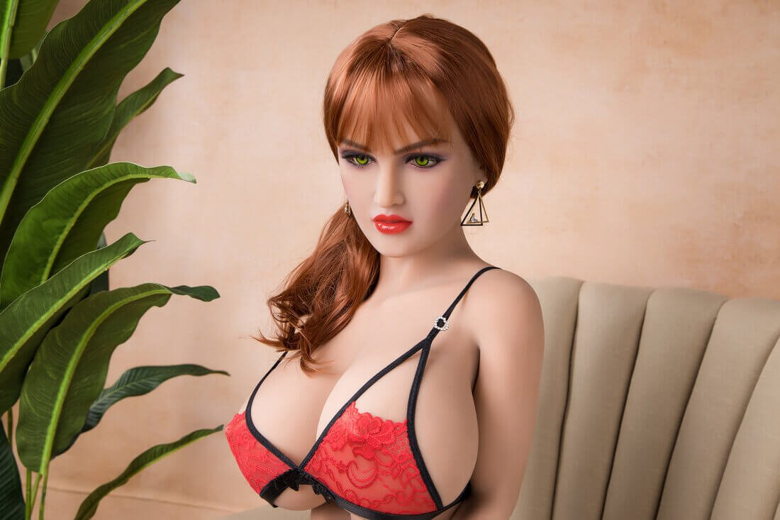 158cm( 5 ft 2 in )  Blonde European Sex Doll - Katherine