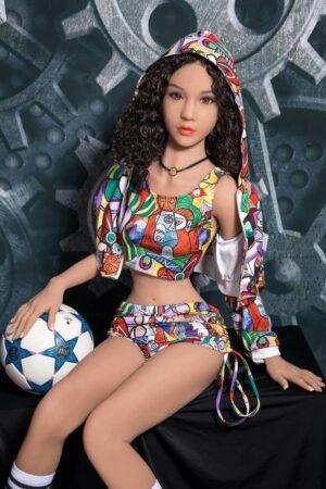 Sexy Capelli ricci bambola del sesso - Victoria