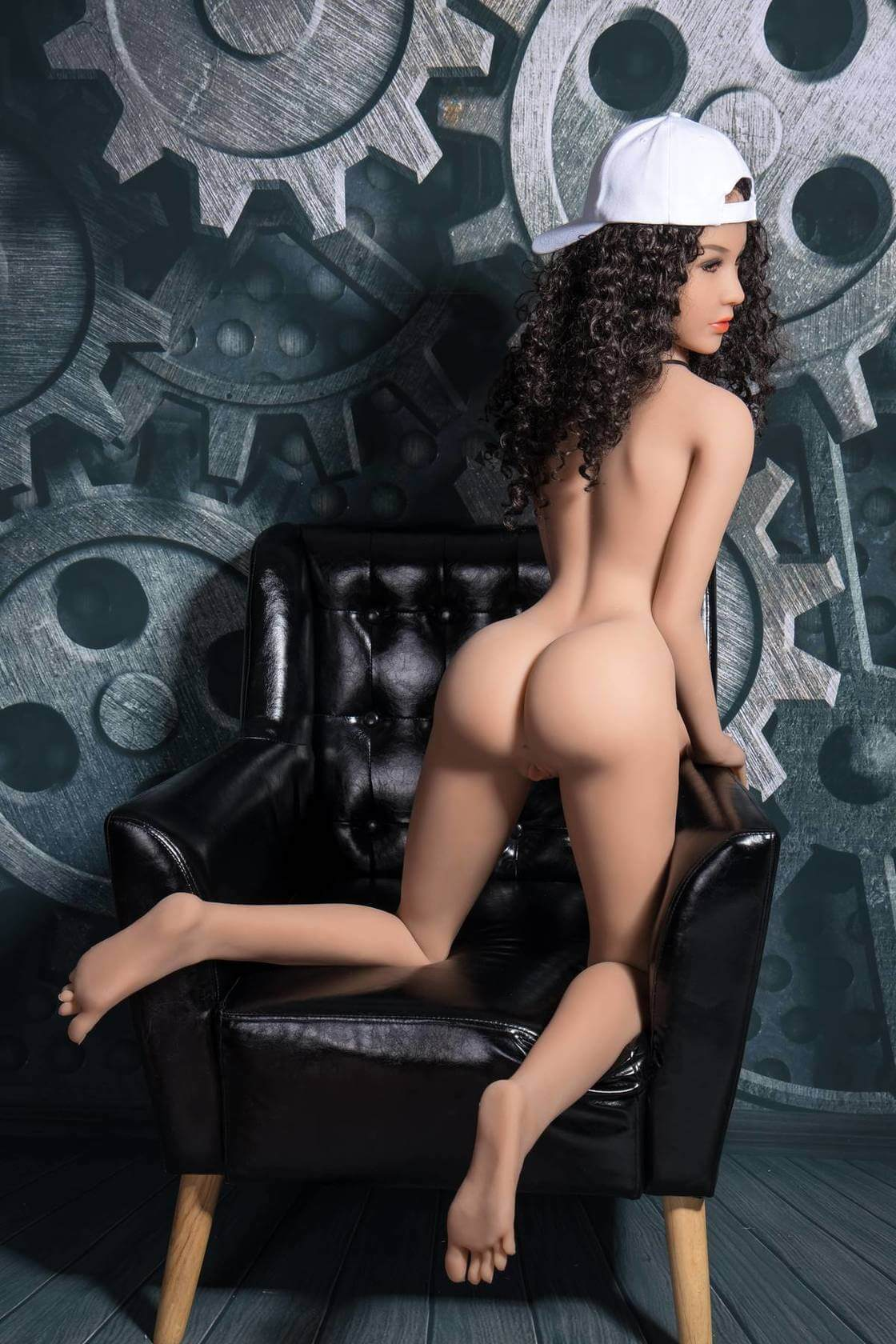 Sexy Curly Hair Sex Doll - Victoria