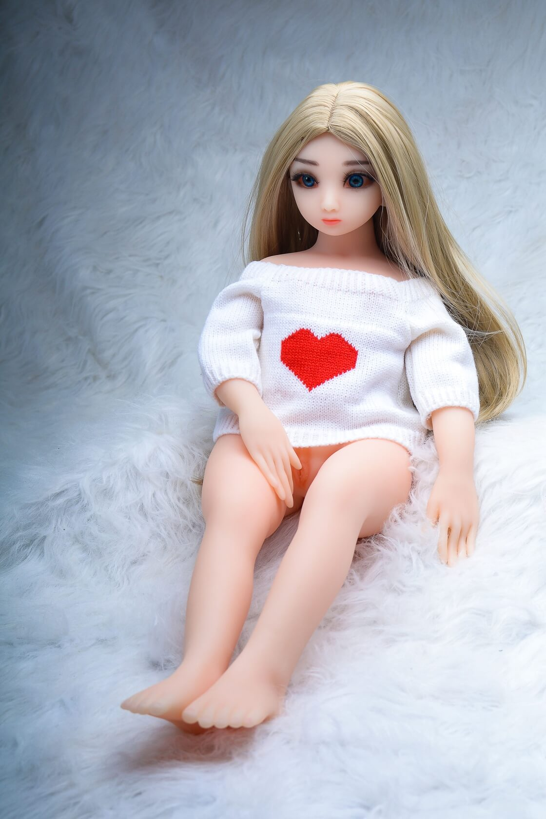 65cm Mini Flat Chest Sex Doll - Brittany