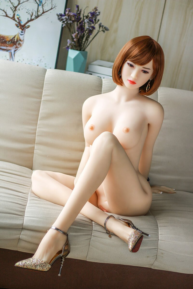 158cm Japanese Short Hair D-cup Sexy Love Doll - Katy