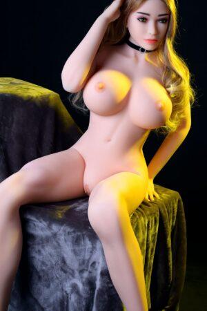 Muscle Girl Blonde Sexet ægte sexdukke