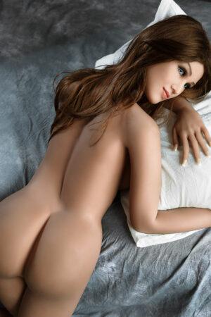 Verdadera atractiva de la muñeca del sexo