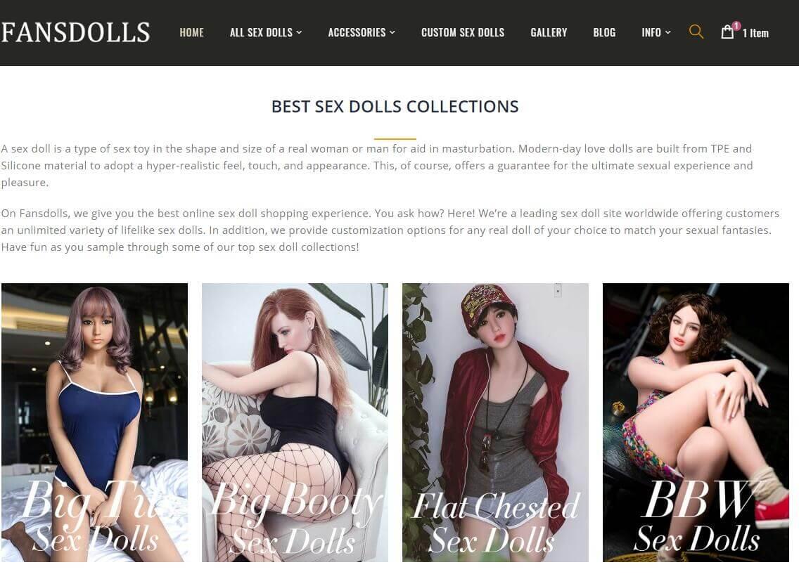 poupée de sexe fansdolls