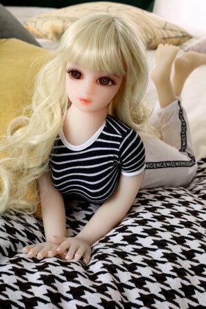 Muñeca Sexual de Silicona Pequeña de 65cm - Flora