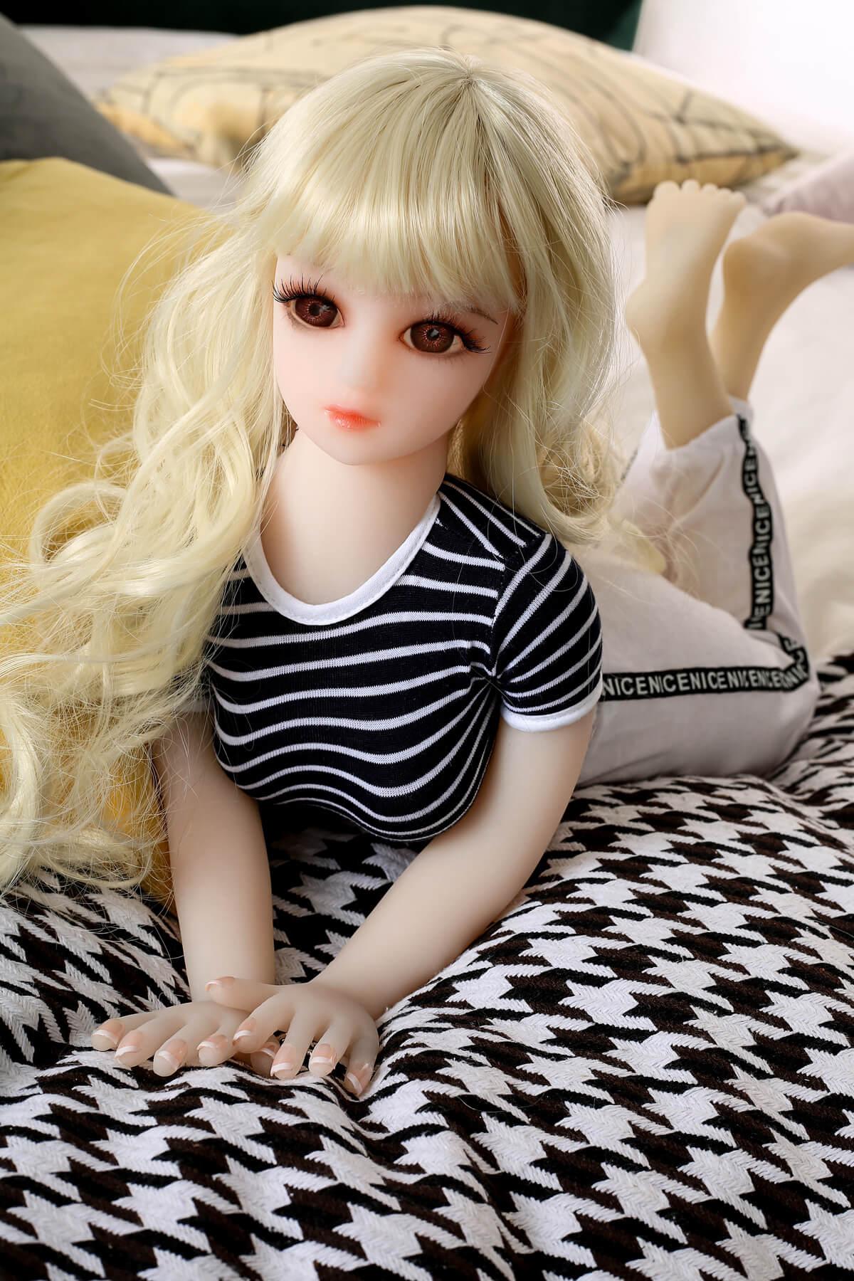 65cm Small Silicone Sex Doll - Flora