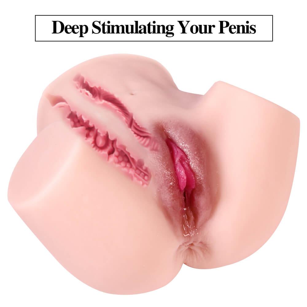 4.4 LBS Mini Ass Sex Doll Torso