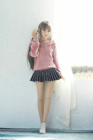 128cm flache Teen Sexpuppe - Yuka
