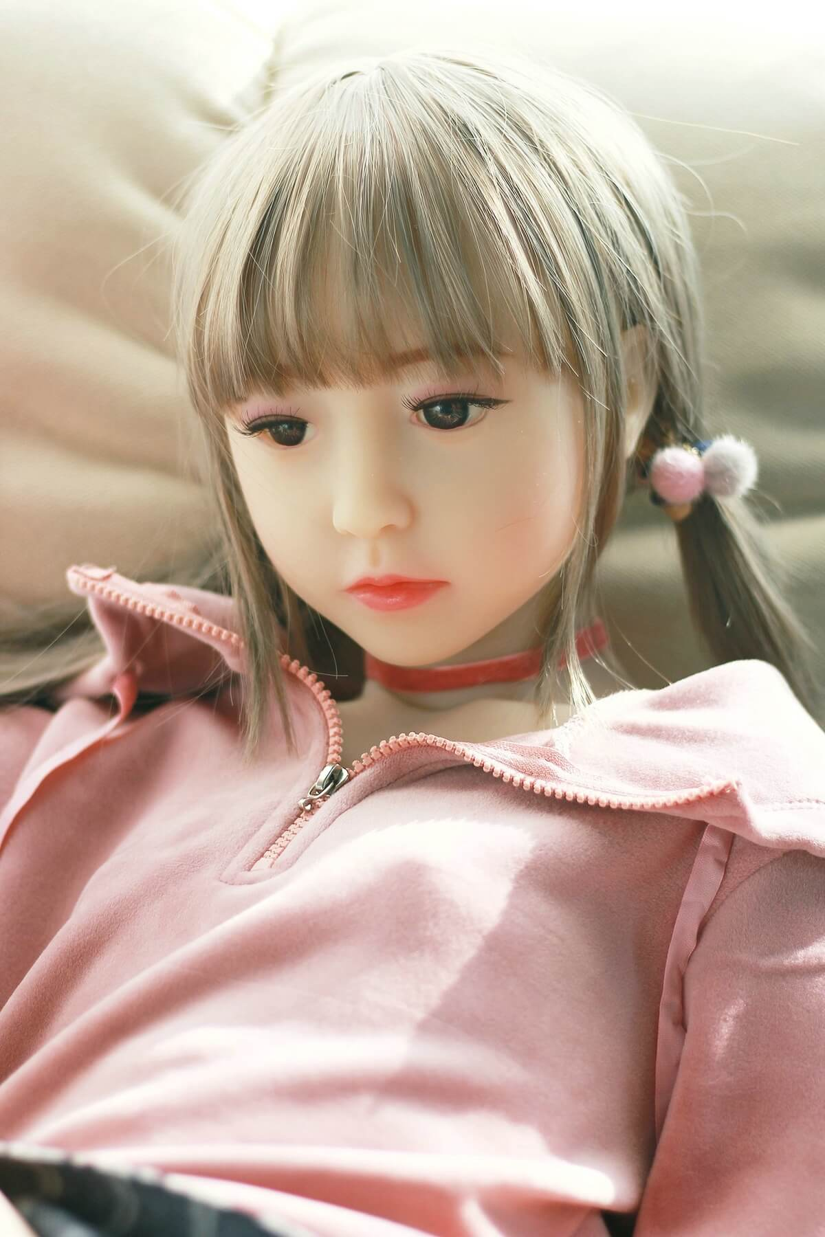 128cm Flat Teen Sex Doll - Yuka